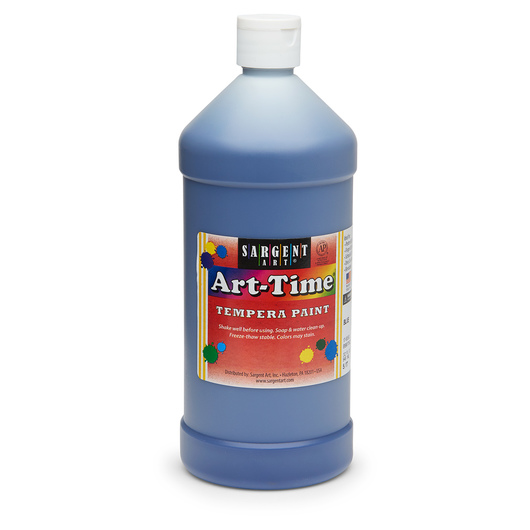 Sargent Art® Art-Time® Tempera Original Paint - Quart - Blue