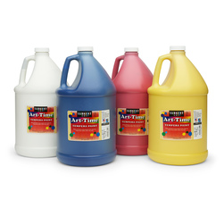 Sargent Art® Art-Time® Original Tempera Paint Set of 4 Gallons