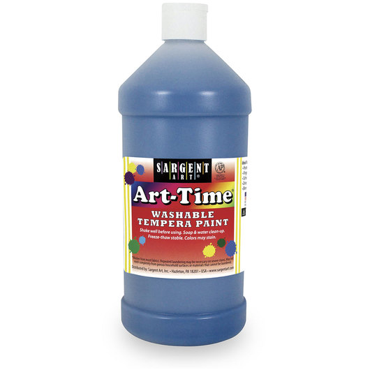 Sargent Art® Washable Art-Time® Tempera Paint - Quart - Turquoise