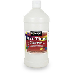 Sargent Art® Washable Art-Time® Tempera Paint - Quart - White