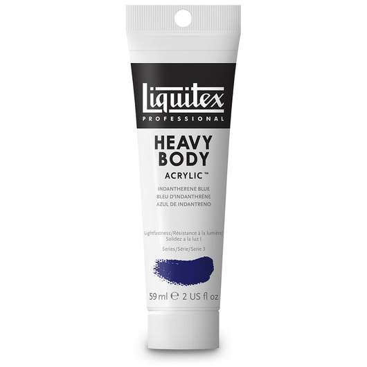 Liquitex® Heavy-Body Acrylic Paint - 2-oz. Tube - Indanthrene Blue