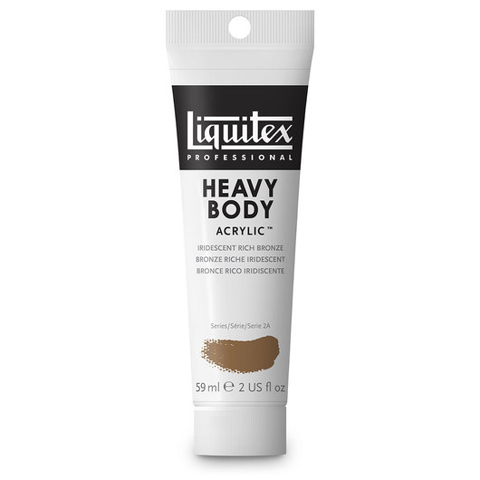 Liquitex® Heavy-Body Acrylic Paint - 2-oz. Tube - Iridescent Rich Bronze