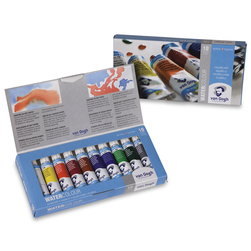 Van Gogh® Watercolors - Basic Set of 10 - 0.34 oz. (10 ml) Tubes