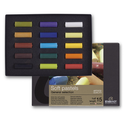 Rembrandt® Soft Pastels - Starter Set of 15 Half Sticks