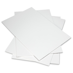 Elmer's Self Adhesive Foam Board 20 in. x 30 in. x 3/16 in. 10 White Boards