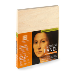 Value Series The Artist Panel™ Unprimed Basswood Panel - 8 in. x 10 in.