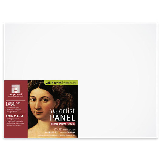 Value Series The Artist Panel™ Canvas Texture Panel - 12 in. x 16 in. x 1-1/2 in.