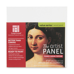 Value Series The Artist Panel™ Canvas Texture Panel - 8 in. x 8 in. x 3/4 in.