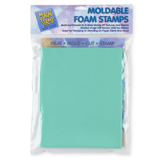 Magic Stamp® Moldable Foam Stamps - Geometric Block Set