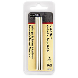 General's® Factis® Pen Style Pkg. of 3 Eraser Refills