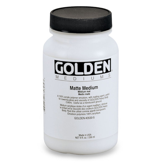 Golden® Regular Medium - Matte Medium Gloss