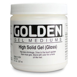 Golden High Solid Gloss Gel Medium