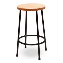 Jack Richeson® Lyptus and Steel Stool - 24 in. H