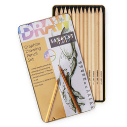 Sargent Art® Graphite Drawing Pencils - Set of 12