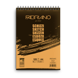 Fabriano® Schizzi Sketch Pad - 8-1/4 in. x 11-3/4 in. - 120 Sheets