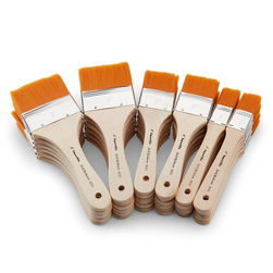 Jack Richeson® Brown Smoothie Brushes - Set of 36