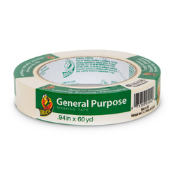 Duck® Brand General Purpose Masking Tape - 15/16 in. Roll