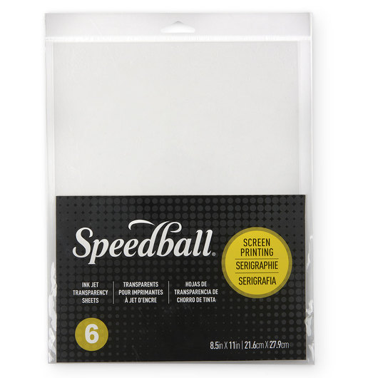 Speedball® Ink-Jet Transparency Sheets