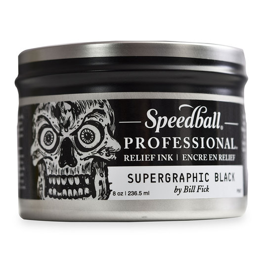 Speedball® Professional Relief Ink™ - Supergraphic Black - 8 oz.
