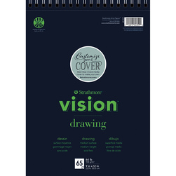 Strathmore® Vision™ Drawing Pad - 9 in. x 12 in. - 65 Sheets