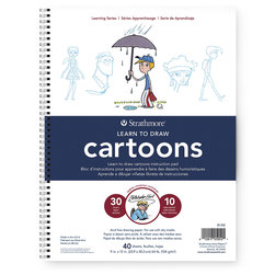 Strathmore® Learn to Draw Instruction Pad - Cartoons