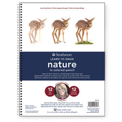 Strathmore® Learn to Draw Instruction Pad - Nature