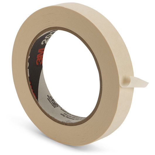 Scotch® General-Use Masking Tape #201+ - 7/10 in. Wide
