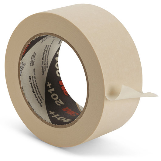 Scotch® General-Use Masking Tape #201+ - 1-7/8 in. Wide