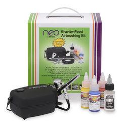 Iwata Neo Gravity-Feed Airbrushing Kit