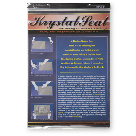 Krystal Seal Art Bags - 23 in. x 31 in.