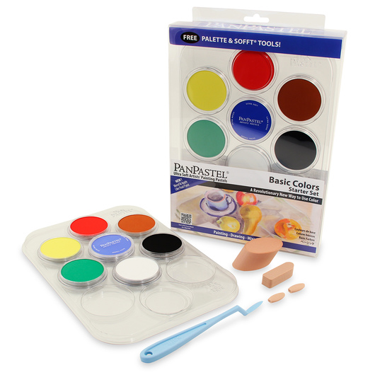 PanPastel® Dry Color Paints - Set of 7 Basic Foundation Colors