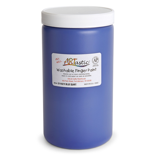 ARTastic® Washable Finger Paint - Quart - Blue