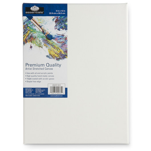 Royal Brush® Essentials Stretched Canvas - 9 in. x 12 in.