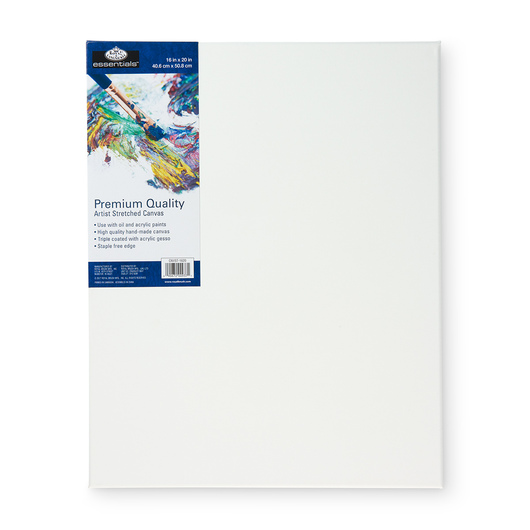 Royal Brush® Essentials Stretched Canvas - 16 in. x 20 in.