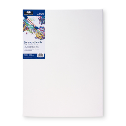 Royal Brush® Essentials Stretched Canvas - 18 in. x 24 in.