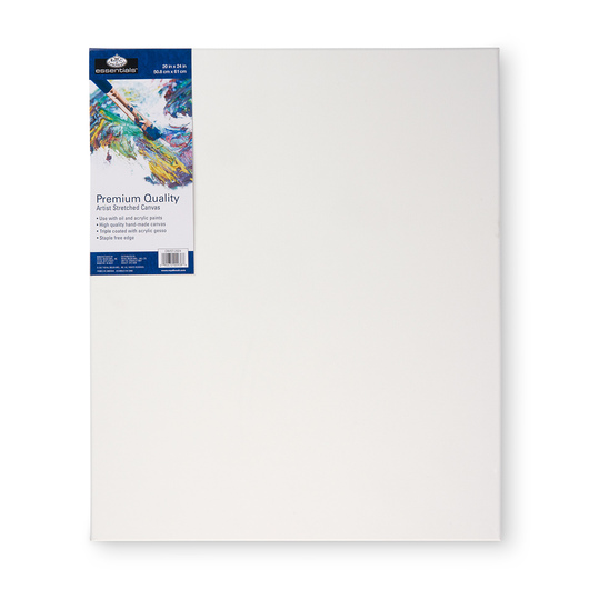 Royal Brush® Essentials Stretched Canvas - 20 in. x 24 in.
