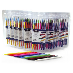 Royal Brush® Woodless Colored Pencil Classroom Pack