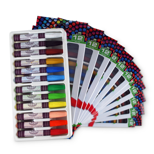 Royal Brush® Oil Pastel Classroom Pack - 144 Piece Set