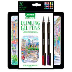 Crayola® Signature™ Detailing Gel Pens - Set of 20
