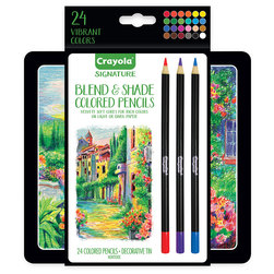 Crayola® Signature™ Blend & Shade Colored Pencils - Set of 24