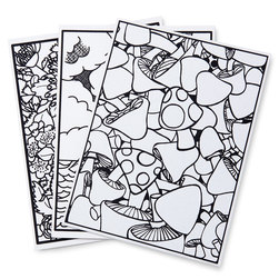 Jacquard® Magic Touch Silk Painting - Pack of 3 Printed Magic Touch Silk Boards Only