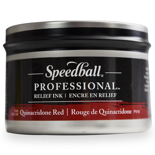 Speedball® Professional™ Relief Ink - Quinacridone Red