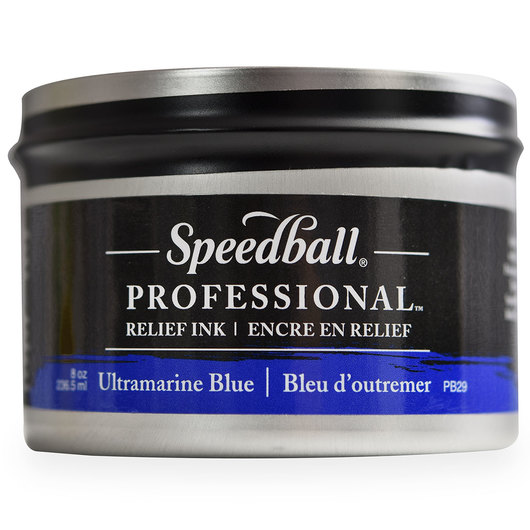 Speedball® Professional™ Relief Ink - Ultramarine Blue