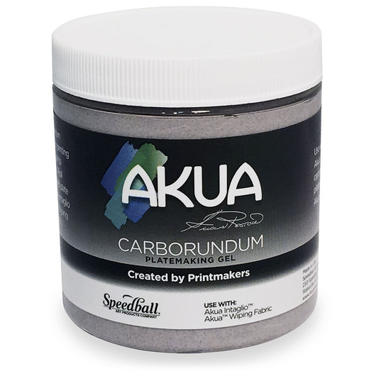 Speedball® Akua™ Carborundum Gel Medium for Platemaking - 8-oz. (237 ml) Jar