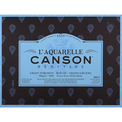L'Aquarelle Canson® Héritage Watercolor Paper Block - 12 in. x 16 in.