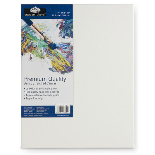 Royal Brush® Essentials Stretched Canvas - 11 in. x 14 in.