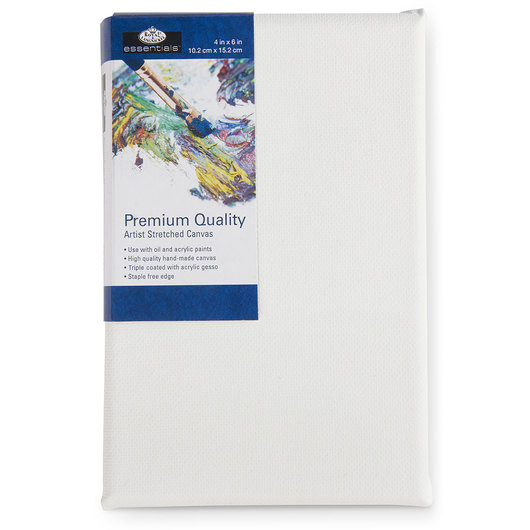 Royal Brush® Essentials Stretched Canvas - 4 in. x 6 in.