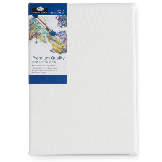 Royal Brush® Essentials Stretched Canvas - 5 in. x 7 in.