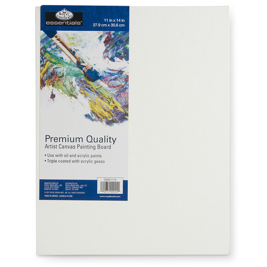 Royal Brush® Essentials Canvas Board - 11 in. x 14 in.