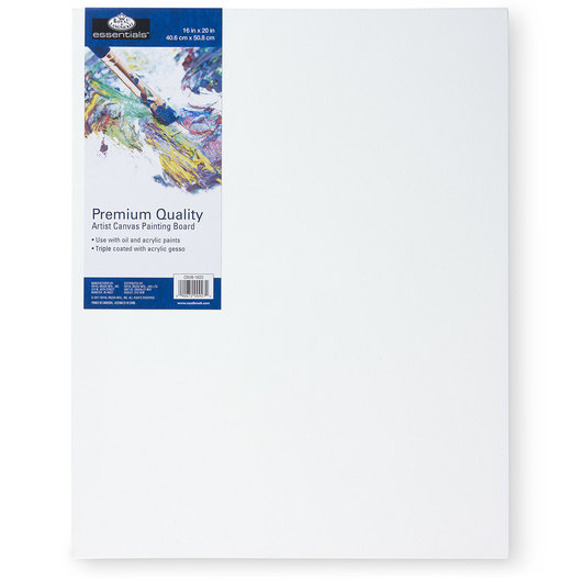 Royal Brush® Essentials Canvas Board - 16 in. x 20 in.